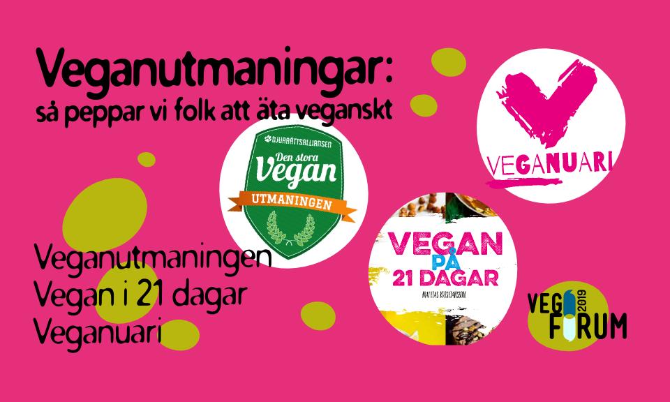 Veganutmaningar