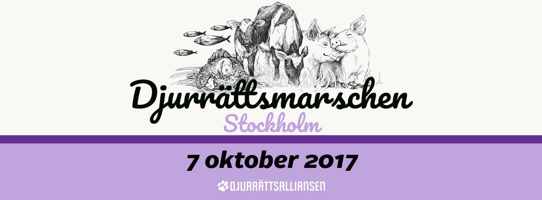Djurrättsmarschen Stockholm