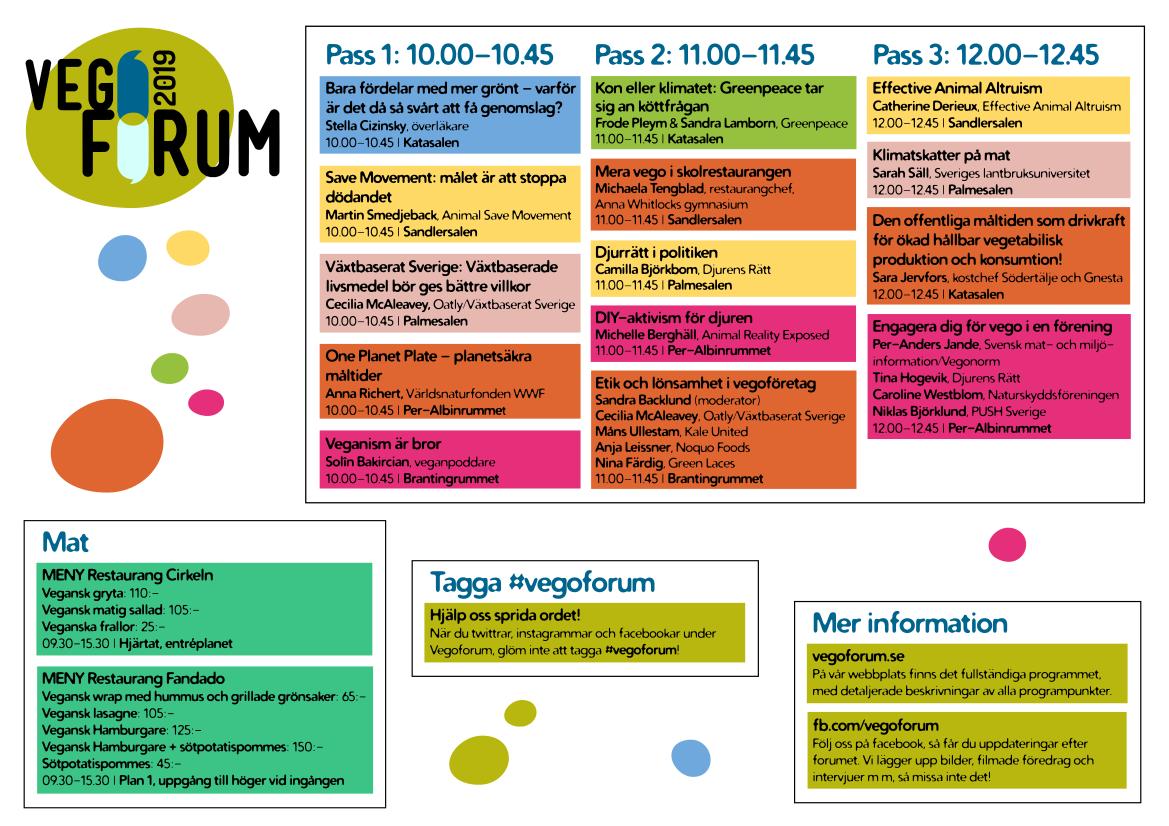 Program, sida 1